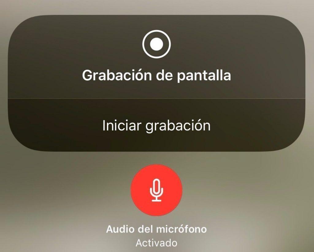 grabar la pantalla en iphone c9