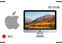 grabar la pantalla en mac