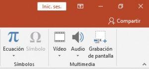 grabar pantalla usando powerpoint