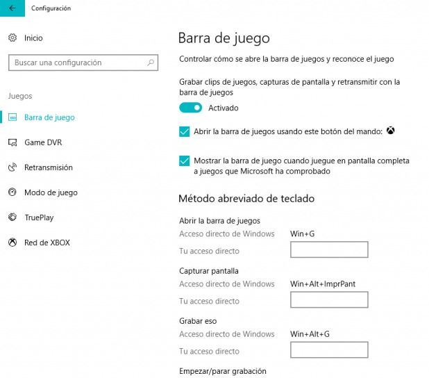 grabar la pantalla en windows 10 c6